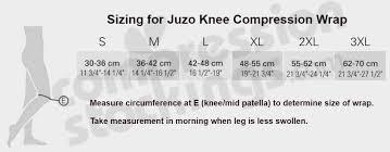 Juzo 6000df Reversible 30 60 Mmhg Compression Knee Wrap