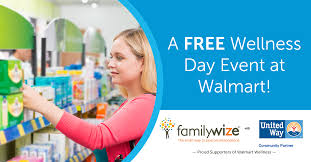A Free Wellness Day Event At Walmart United Way Of