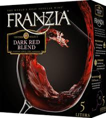 Franzia Vintner Select Dark Red Blend Nv 5 0 L Box