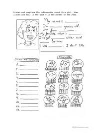 Abbreviations Worksheet | School Pinterest Worksheets ... Months Of ...