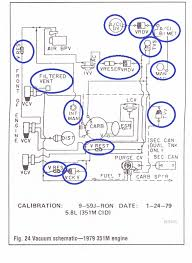 Part 1  Vacuum Hose Routing Diagram 1988 GM 2 8L S10 Pickup Blazer also Vacuum routing diagrams   Fixya as well  furthermore 1984 Ford 460 EGR   vacuum advance fix   FordForumsOnline further  further Vacuum routing diagrams   Fixya additionally 460s and California smog    Page 2   Ford Truck Enthusiasts Forums furthermore SOLVED  Find 2005 ford f 250 5 4 vacuum line diagram   Fixya together with Dealing with EGR and EVAP after DSII Carb swap   Ford Truck furthermore 460 running hot   Ford Truck Enthusiasts Forums additionally 86 f250 running issues  rebuilding carb and replacing vacuum lines. on 85 ford 460 vacuum diagram