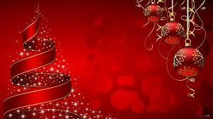 Christmas tree and baubles wallpaper ...