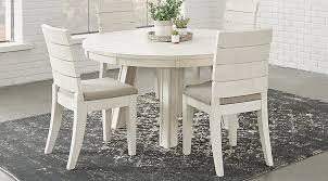 round dining room tables. Crestwood Creek Ivory 5 Pc Round Dining Room - Sets Light Wood Tables S