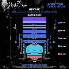 Nj Pac Seating Chart