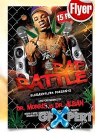 flyer rap free free battle rap flyer psd template facebook cover download