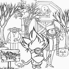 Minions Halloween Coloring Pages – Halloween & Holidays Wizard