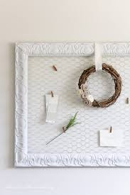 easy diy memo board so pretty and perfect to display your favorite photos or decor