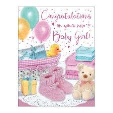Congratulation New Born Baby Girl Pink Shoes Colman Wholesale