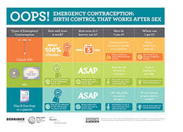 Types Of Contraception Chart Educational Materials Beyond The Pill