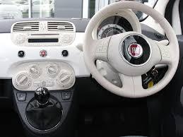 fiat 500 2015 inside. now thatu0027s a pristine white interior if ever we saw one fiat 500 2015 inside