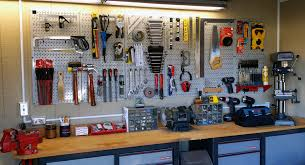 wall control gray garage pegboard for