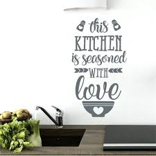 kitchen wall art this kitchen is seasoned with love kitchen wall quote wall art sticker kitchen wall art stickers uk retro kitchen wall art uk