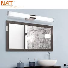 led bathroom mirror lighting. Find More Wall Lamps Information About ECOBRT 16w 80cm Long Acrylic LED Linear Bathroom Mirror Lighting Led