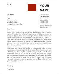 Cover Letter Word Document Sample Tomyumtumweb Com