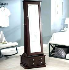 inspiring jewelry armoire mirror white mirror jewelry floor jewelry with mirror white white mirror floor standing
