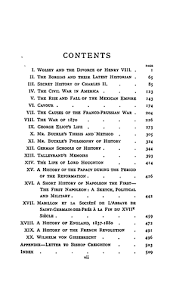 historical essays and studies online library of liberty original table of contents or first page
