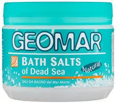 Geomar <b>Соль Мертвого моря для</b> принятия ванн, 500 г — купить ...
