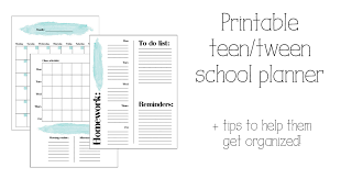 10 Ways To Help Your Teen Get Organized For School Student