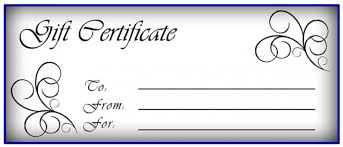 certificate template pages free gift certificate template pages sample