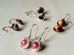 simple wire wrapped earrings how to
