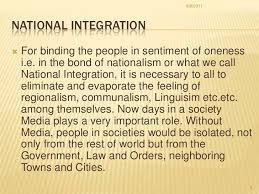 essays articles education national integration brief notes on education and national integration