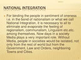 essays articles education national integration brief notes on education and national integration