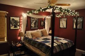 Bedroom:Bedroom Christmas Light In Canopy Bed Idea Bedroom Christmas Light  In Canopy Bed Idea