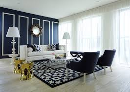 Navy Blue Living Room Ideas Adorable Home Beauteous Navy Blue Living Room