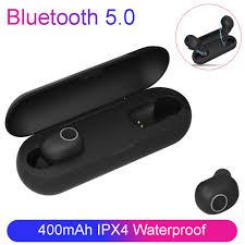 <b>TWS</b> Bluetooth 5.0 <b>Wireless</b> Bluetooth <b>Earphone</b> Handsfree ...