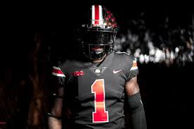 Will Land Against Nebraska Land-grant For Noon Game Uniforms - State Holy Black Wear Ohio