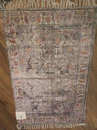 rachel ashwell shabby chic fringed cornt persian feel area rug 35 x 55 boho