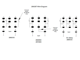 item 286xbxc 10f 12vdc 286 287 series squre base time delay 286 287 series squre base time delay relays wiring diagram