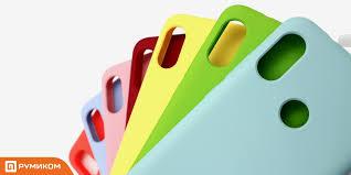 <b>Силиконовый бампер Silicone Cover</b> для Xiaomi Redmi Note 7 ...