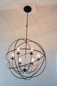 chandelier affordable chandeliers globes font lighting metal orb world market chandelie