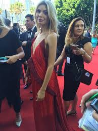 """TV WEEK on Twitter: """"#aplacetocallhome's Abby Earl is radiant in red at the  #AACTAs https://t.co/u6n638u2Wj"""""""