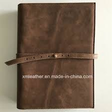 china real leather custom design ring binder a5 file folder china a5 file folder leather folder