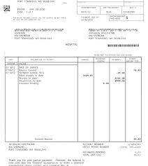 Sample Medical Bill Format In Word Medical Bill Format In Word Analysis Template Billing