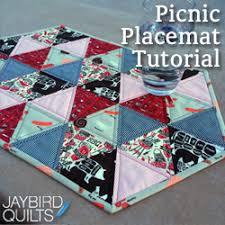 Tutorials | Jaybird Quilts & Picnic Placemat Adamdwight.com