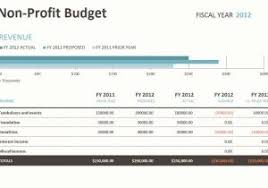 Budget For Nonprofit Example - Tier.brianhenry.co