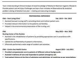 Cna Resume Cover Letter Phenomenal Sample Resume Cna Template For Nursing Assistant Job 89