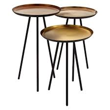 buy content by terence conran accents round side tables set of