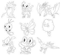 Pokemon X Y Kleurplaten