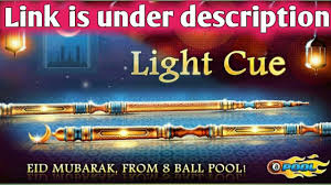 Light Cue 8 Ball Pool Free Light Cue For All From Miniclip 8 Ball Pool Link Is Under Description