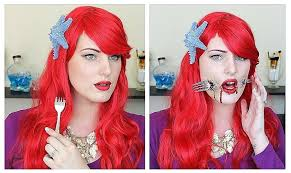 ariel hair color red little mermaid dye new the gory