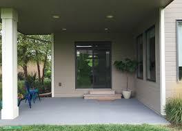 painted concrete patio life on virginia street