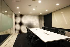 office design concept. An Office Heightens The Corporate Brand With Consistent Design Concept M