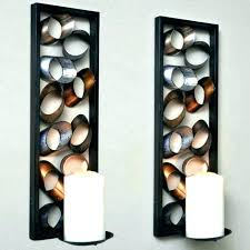 sconces tea light sconces votive candle holders hobby lobby hangers like this item floor wrought