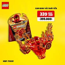 Mykingdom - LEGO Ninjago - Con Quay Lốc Xoáy - 70659 (97...