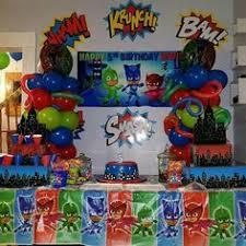 Pj Mask Party Decoration Ideas Image result for decoracao em bexiga pj masks Angel birthday 85