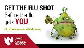 Nebraska One Chart Flu Shots Available Soon Unmc